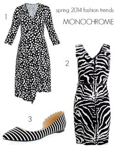 Spring has sprung. Your wardrobe is edited and your basics are sorted. What spring 2014 fashion trends in colour will you add to what you wear every day? Spring 2014, Summer 2014, Spring Summer, 2014 Fashion Trends, Spring Has Sprung, Monochrome, Bodycon Dress, Fancy, My Style