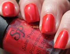 What a perfect name!!!  - Salon Perfect Spicy Tomato----love this color .