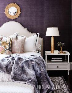 Luxury Purple Room Decorations