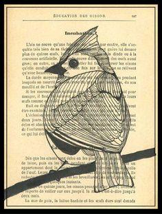 #bird #art @Lisa Phillips-Barton Phillips-Barton Phillips-Barton Congdon