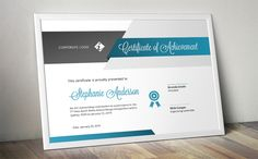 Script certificate template (docx) by Inkpower on @creativemarket