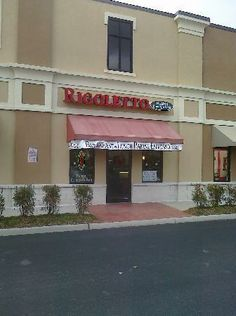 Rigoletto in Virginia Beach VA. If eggplant is on the menu I will always order it, so I had eggplant panini. Really yummy! There was an extensive pastry case. It was hard to choose but I brought several pastries home and they reminded me of pastries in New York. I was happy!