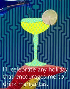 Margarita, Encouragement, Drinks, Celebrities, Holiday, Fashion, Cinco De Mayo, Drinking, Moda