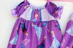 Forever Sisters Frozen DressesShips within 5 days by WildOliveKids, $35.00