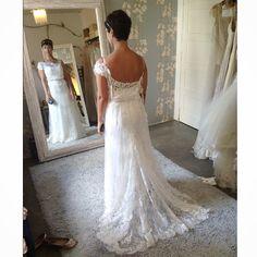 Última prova da nossa fada Vivi Veloso. Linda! Wedding Dress Atelier Carla Gaspar.