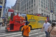 Have you spotted our 2013 #VisitBucksCounty and Sesame Place bus riding through the streets of Manhattan? Be sure to share a picture with us!