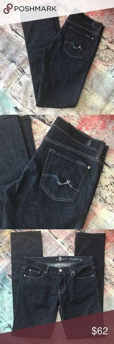 Seven for all mankind straight leg Seven for all mankind straight leg 30 x 34 7 For All Mankind Jeans Straight Leg