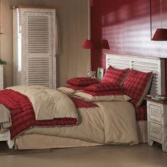 Chambre décorée par la collection Vivesco - Copyright Interior's France Copyright, Genre, Decoration, France, Bed, Furniture, Collection, Home Decor, Bedroom