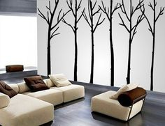 Vinyl trees - nursery decor for when the time comes?