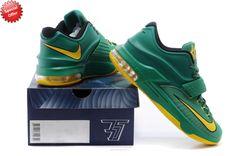 """Oregon Ducks"" Green Yellow KDVII-015 Nike KD VII Sale Online NB8A93"