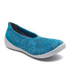 Teal Heather Raelyn Flat