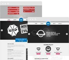 SJS London Website - young, simple, effective.