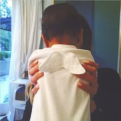 Angelic! North West wears an adorable winged onesie in a photo Kendall Jenner posted on Instagram