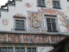 Fresco in Lindau, Germany