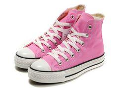 6d3fda5dbdc1 Cheap Converse Classic All Star Shoes Hi-top Pink Canvas Comfortable