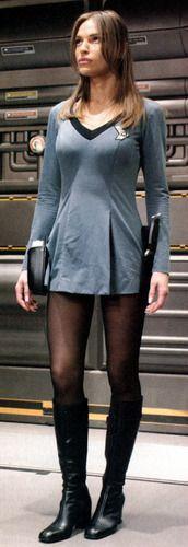 T'Pol - In a Mirror - Star Trek - Enterprise Photo (6788952) - Fanpop