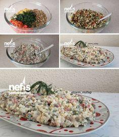 Yoğurtlu Yeşil Mercimekli Kuskus Salatası Tarifi nasıl yapılır? 2.968 kişinin defterindeki bu tarifin resimli anlatımı ve deneyenlerin fotoğrafları burada. Yazar: Elizan