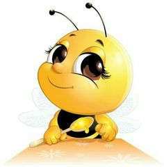 Trendy bumble bee art for kids canvases ideas Bee Pictures, Cartoon Bee, Bee Party, Kids Canvas, Cute Bee, Smileys, Beeswax Candles, Bee Keeping, Painted Rocks