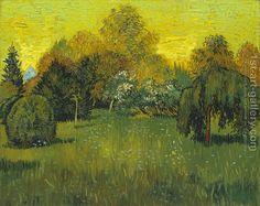 The Poets Garden Vincent Van Gogh Reproduction | 1st Art Gallery