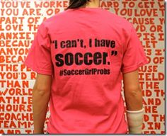 soccer girl problems t shirts - Bing Images