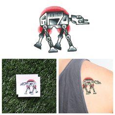 Star Wars - AT AT - Temporary Tattoo (Set of 2)