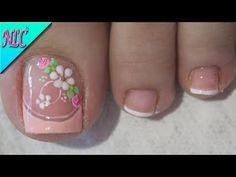Pretty Toe Nails, Cute Toe Nails, Gorgeous Nails, Nail Salon Design, New Nail Art Design, Pedicure Nail Art, Toe Nail Art, Acrylic Toes, Summer Toe Nails
