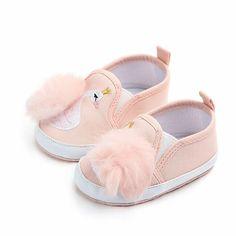 Voberry@ Newborn Baby Booties Cute Warm Winter Infant Prewalker Pom Pom Snow Boots Crib Shoes