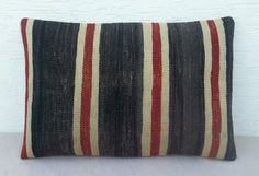 LARGE  Outdoor Kilim CushionsCottage Chic Lumbar by pillowsstore, $63.00