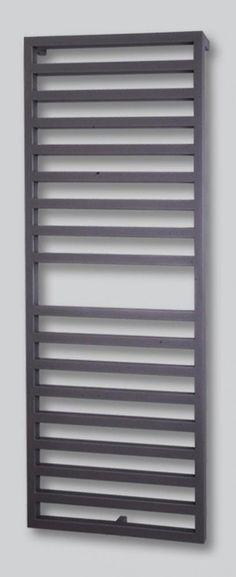 Badheizkörper Design Square 2, 147x60cm 810 W silber/anthrazit (Mittelanschluß)