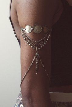 Arm Chain Armlet Upper Arm Chain Vintage