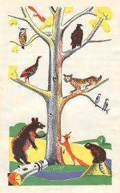 Sweet Juniper's Vintage Kids Books: Daniel Boone, by Esther Averill (ill. Ferdor Rojankovsk) (1931)