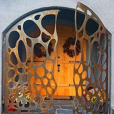 Custom lazer cut security doors