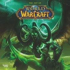 World Of Warcraft 2017 Wall Calendar: 9781465057754 World Of Warcraft Wallpaper, Brown Trout, The Expanse, Mystic, Calendar, Movie Posters, Fictional Characters, Gaming, Game