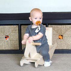 Rocking Horse Wood Toy by LittleSaplingToys on Etsy