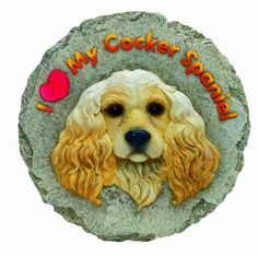 Spoontiques Cocker Spaniel Stepping Stone