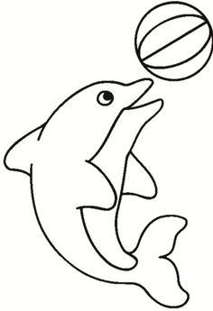 32 Ideas Patchwork Molde Cachorro For 2019 Dolphin Coloring Pages, Fish Coloring Page, Animal Coloring Pages, Colouring Pages, Coloring Pages For Kids, Coloring Sheets, Coloring Books, Applique Templates, Applique Patterns