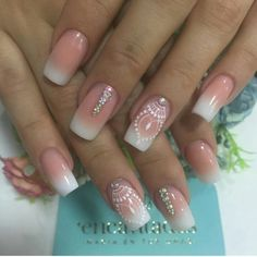 50 Top Best Wedding Nail Art Designs to Get Inspired Nail Art Diy, Diy Nails, Gorgeous Nails, Pretty Nails, Coffin Nails, Acrylic Nails, Finger, Toe Nail Designs, Black Nails