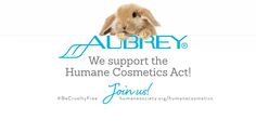 Aubrey Organics supports the #HumaneCosmeticsAct & the #BeCrueltyFree campaign!
