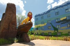 Disney's Art of Animation Resort Disney Value Resorts, Disney Art Of Animation, Wide World, World Of Sports, Disney Girls, Walt Disney World, The Little Mermaid, Vacations, Lion