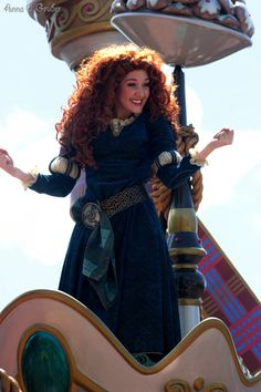 Festival of Fantasy Parade Walt Disney, Merida Disney, Brave Merida, Disney Magic, Festival Of Fantasy Parade, Disney Face Characters, Disney Dreams, Disney Pictures, Disney Girls