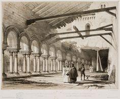 Interior del coro de las Huelgas de Burgos.