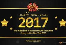 Happy New Year 2017 Wishes And Status for Facebook