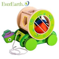 Enfants Modle blocs de construction en bois jouets assemblage éducatifs créature véritable tortue escargot tirez voiture dans Obstacles de Jouets & loisirs sur AliExpress.com | Alibaba Group