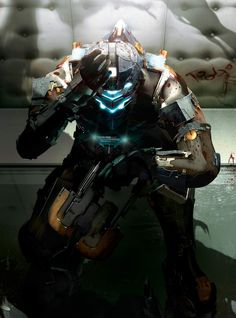 #DeadSpace 2 - Isaac by ~Antimatter-Radius on deviantART  #videogames #gaming
