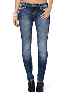 image of Pyramid Wing Skinny Jean in Curvy