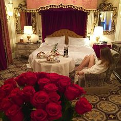 Just for one day... #luxury #travel #hotel #goals #wishlist #sexy #style #redroses #concierge