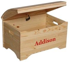 This Treasure Chest Toy Box has a slatted curved top that gives it a distinctive look. A handcrafted keepsake to last a lifetime and beyond. The lid uses a high quality safety tested lid support that prevents the top from ever falling, even when left only an inch or two from a fully-closed position. Its the best in the business. The lid on this wonderful treasure chest is all solid pine construction and the box is made from either solid pine or MDF depending on finish. This toy box is…