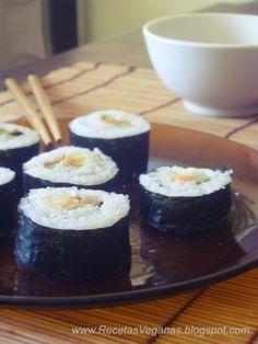 Recetas Veganas: Sushi vegano