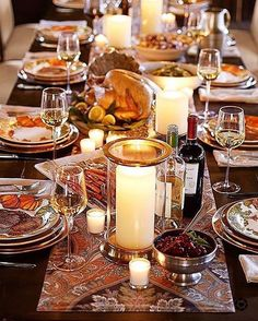 Happy thanksgiving 🦃 I hope everyone has a wonderful day with your friends and the family. I wanted to share this beautiful tablescape from 📸@potterybarn // Download the LIKEtoKNOW.it app to shop this pic via screenshot // @liketo
