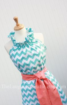 NEW...Sail Away...Women's Easter Dress by TheLaughingGiraffe, $84.00